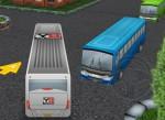 3D Otobüs Sürme ve Park Etme Oyna
