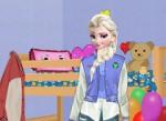 Elsa Oda Dekorasyonu Oyna