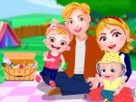 Hazel Bebek Aile Pikniği Oyna