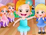 Hazel Bebek Balerin Dansı Oyna