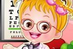 Hazel Bebek Göz Doktoru Kıyafetleri Oyna
