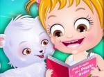 Hazel Bebek Hayvanlara Bakıyor Oyna