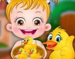 Hazel Bebek Ördek Bakımı Oyna
