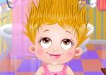Hazel Bebek Saç Bakımı Oyna