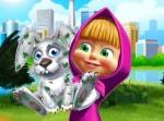 Maşa ile Koca Ayı Tavşan Bakımı Oyna