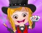 Sihirbaz Hazel Bebek Sihir Gösterisi Oyna