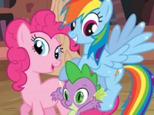 My Little Pony Boyama Kitabı Oyunu Oyna